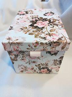 Grand papillon imprimé doublé tissu plant pot Cover Shabby Chic