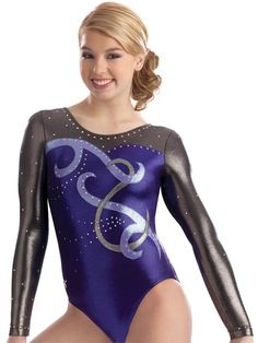 Swirled Sweetheart Gym Leotard from GK Elite