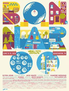 Elton John - Kanye West - Jack White - Lionel Richie - Vampire Weekend - Skrillex - Phoenix - Arctic Monkeys - Avett Brothe...