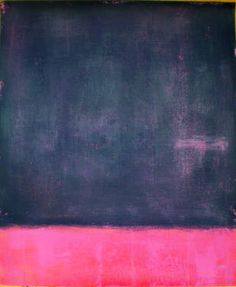Inspired by Rothko - painting by Luis Medina