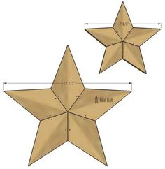 Rustic Patchwork Wood Stars, Home Decor, Easily add natural elements into your Christmas decor with these simple rustic patchwork wooden stars. Free patterns and tutorial. Barn Wood Crafts, Barn Wood Projects, Pallet Crafts, Diy Projects, Diy Crafts, Star Diy, Wood Stars, Wood Home Decor, Paper Stars