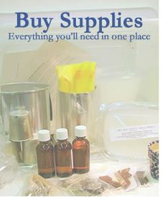 Supplies for Making Candles and Soaps- Beeswax, Essential Oils, etc...  Village Craft & Candle