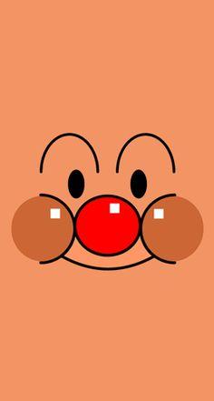 それいけ!アンパンマン[3]アンパンマン | なにこれ超かわいい☆どアップきせかえiPhone壁紙