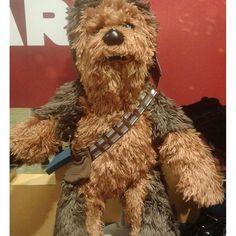 #StarWars #Chewbacca #BuildABearWorkshop #TheForceAwakens #MayTheForceBeWithYou