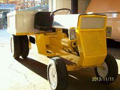 Cub Cadet dump tractor