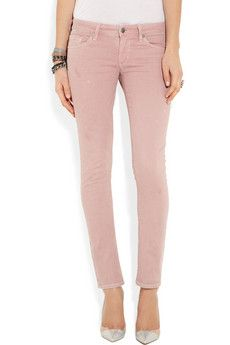 Nice pink skinny jeans. Citizens of Humanity.