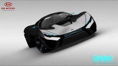 Wow looks like a batman car #KIA CONCEPT CARS