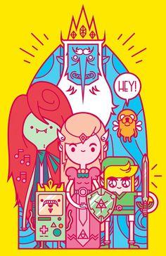 Pra inspirar: 20 ilustrações de Adventure Time