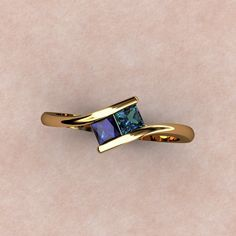 Sapphire & Alexandrite - the 2 stones of my kids....great for a good mothers ring... someday