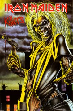 Iron Maiden - Killers 323x488 pixels