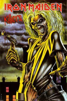 Iron Maiden - Killers 323x488 pixels