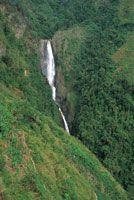 Salto de Bordones cerca del municipio de Isnos en el departamento del Huila.