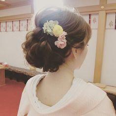 Wedding Kimono, Wedding Dresses, Up Styles, Hair Styles, Japanese Wedding, Hairdo Wedding, Hair Arrange, Bride Hairstyles, Wedding Styles