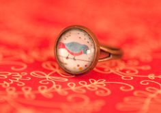 Bird ring, by ana aceves
