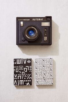 Lomo'Instant Automat is a fully equipped automatic camera that instantly prints your favorite moments on Fujifilm Instax Mini Film (sold separately). This sleek, vintage-look camera automatically adjusts shutter speed, aperture + flash output to your surroundings, allowing for perfectly exposed pictures in both the light + the dark.