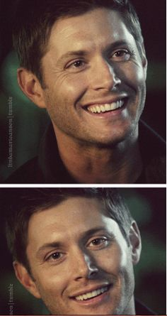 [GIFSET] Gag Reel :):) it's ok, I didn't need my ovaries that just exploded Jensen Ackles Supernatural, Winchester Supernatural, Love My Boys, My Love, Jared And Jensen, Super Natural, Crazy People, Season 7, Perfect Man