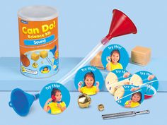SENSES UNIT - Can Do! Sound Discovery Kit - Pre K-Gr. 1 at Lakeshore Learning