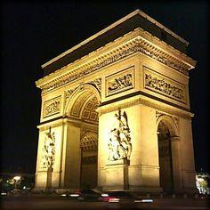 Париж Триумфальная арка / Arc de Triomphe Paris France