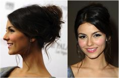 20 Ways to Wear a Messy Updo: Messy Prom Updos: Victoria Justice