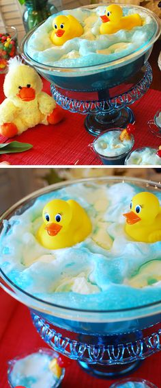 Baby Blue Ducky Shower Punch | Click Pic for 21 DIY Baby Shower Ideas for Boys | DIY Baby Shower Party Decorations for Boys