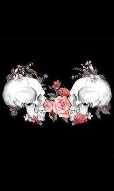 This could be a beautiful chest piece Skull Wallpaper, Wallpaper Backgrounds, Iphone Wallpaper, Wallpapers, Phone Backgrounds, Pattern Wallpaper, Skull Artwork, Skeleton Art, Sugar Skull Art