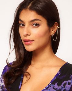 ASOS Jewelled Stud Earcuff