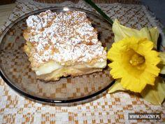 Kruche ciasto, budyniowa masa, jabłuszka i #kruszonka... Całość rozpływa się w ustach :)  Mój stary, dobry przepis:  http://www.smaczny.pl/przepis,letnia_szarlotka  #przepisy #ciasta #jabłka #owoce #lato #budyń #cukierpuder