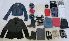 How to pack for Paris in the Spring and fall. See MadlyChic.com for more details!