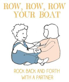 Sing & Move: row row row your boat  [Gross Motor Skills]
