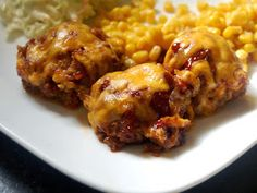 Cassie Craves: BBQ Cheddar Meatloaf Muffins