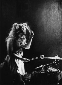 "Saatchi Online Artist: Maria van den Bosch; Charcoal Drawing ""Drum Song"""