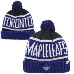 Mens Toronto Maple Leafs '47 Brand Royal Blue Calgary Cuffed Knit Beanie want
