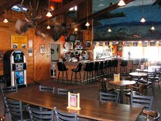 The Sandbar Cold Drinks, Good Food, Live Entertainment and Great Fishing Stories told here.