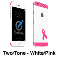 iCarbons - Breast Cancer Awareness iPhone 6-6 Plus Skin
