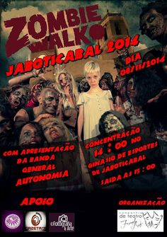 Planeta Alternativo Magazine: ZOMBIE WALK JABOTICABAL 2014