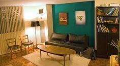 teal green zebra print painted room - Google Search