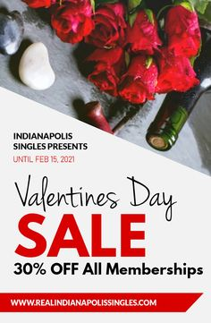 How can you meet single seniors and spice up your dating life? Indianapolis Singles has an offer you can't refuse with a 30% discount on all new memberships. This offer is valid upto February 15, 2021. Get started today @ (317) 207-1354. Valentine Special, Valentines, Find Your Match, Las Vegas Trip, February 15, Meet Singles, Event Calendar, Spice Things Up, Dating