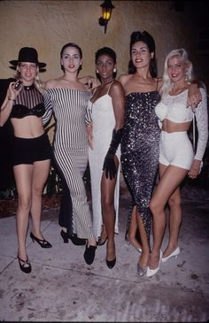 1990-Crop tops, tight dresses, and sequins galore—today's trends are still taking notes from the 1990s. (And we're still copying their poses, too.)