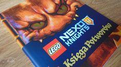 """""""LEGO Nexo Knights. Księga potworów"""" #recenzja http://magicznyswiatksiazki.pl/lego-nexo-knights-ksiega-potworow/"""