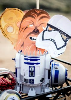 Have fun with these FREE Star Wars Mask  Printables plus Light Sabers, Jedis, Droids and more. For Star Wars lover, we have put together a collection of exciting Star Wars printables, foods and other Star Wars party ideas!