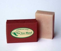 Tea Tree Blend Shampoo/Total Body Bar by Fernwood Soap. $3.50. For dry skin & hair. Based with olive, coconut, palm, sweet almond, and castor oils, shea butter and virgin coconut oil. Extra lathering and moisturizing
