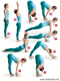 Start your morning with sun salutations