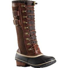c00839e0b3 Sorel Women's Conquest Carly II Boot - 7.5 - Umber / British Tan Sorel  Conquest Carly