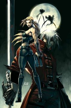 DEVIL MAY CRY #1b Michael Turner