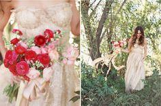 Blumen + Kleid