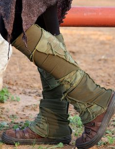 Patch Leg Warmers by LunaDesignn on Etsy, $37.00