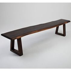 Have to have it. Nuevo Kava Live Edge Bench - Seared Oak $793.8