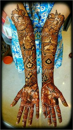 Mehandi Rajasthani Mehndi Designs, Dulhan Mehndi Designs, Wedding Mehndi Designs, Latest Mehndi Designs, Mehandi Henna, Henna Art, Mehndi Design Pictures, Mehndi Images, Mehendhi Designs