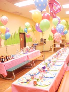 A party for a Princess!