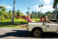 can I please just live in Hawaii, have a truck like this, and be a beach bum? please?